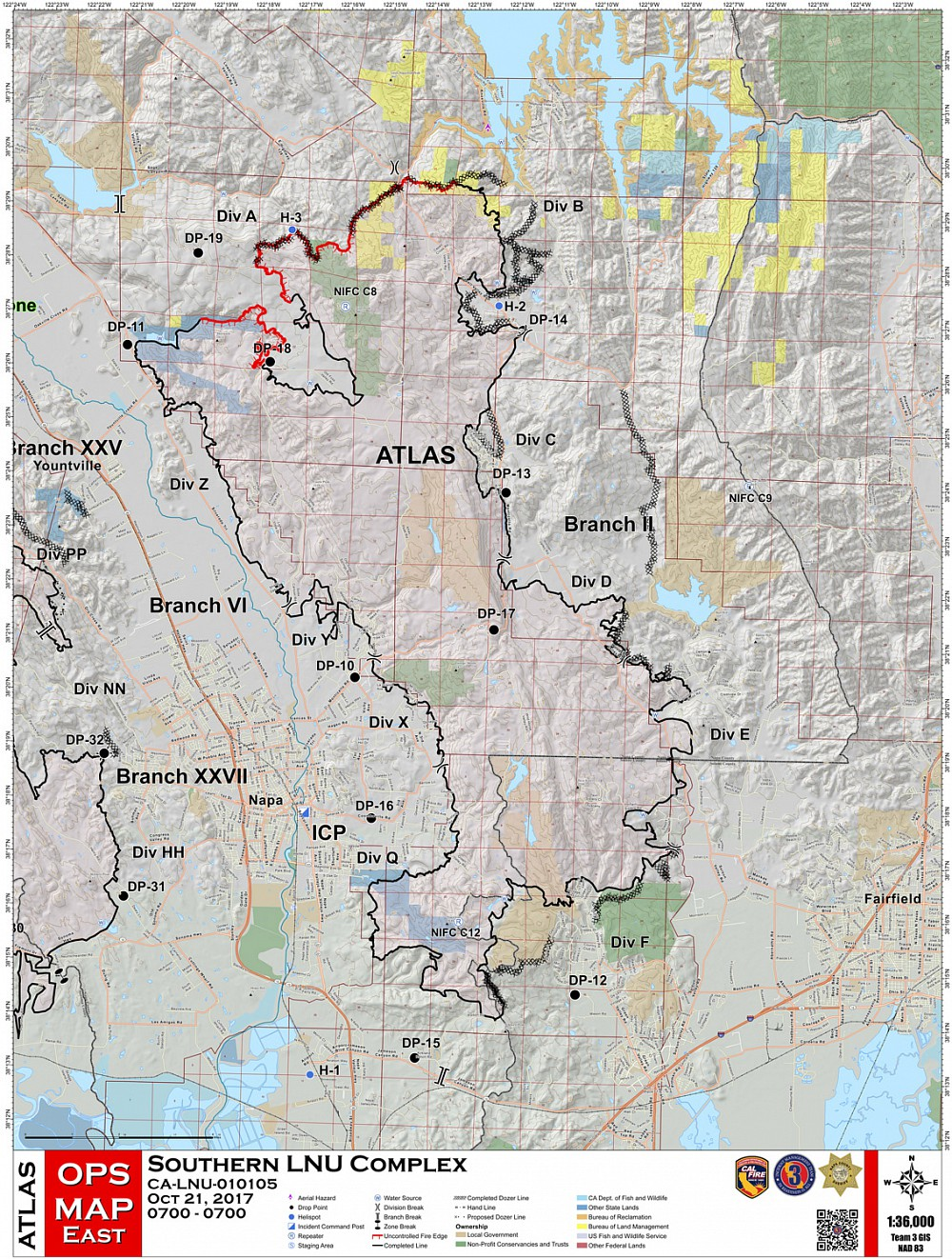 Soda Canyon Road Atlas Fire Maps - Soda-map-of-the-us