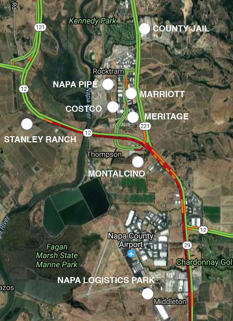 Soda Canyon Road More traffic for Bottleneck Junction